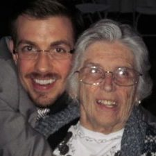 Cogniom co-founder, Robert Bruehrig and his Granny B.