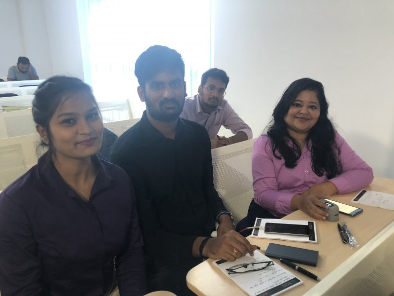 Photo of Biofi team, MedTech's Got Talent Challenge India 2019