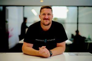 Photo of Buzz Palmer, MedTech Actuator