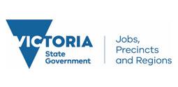 Victorian Department of Jobs, Precincts and Regions logo