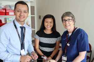 Photo of the Ventora team - Edward Buijis, Amy Yu and Christiane Theda.