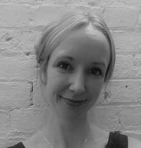 Black and white photo of Emma Clark, MedTech Actuator