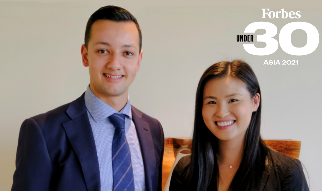 Ventora Medical Co-Founders honoured in 2021 Forbes 30 Under 30.
